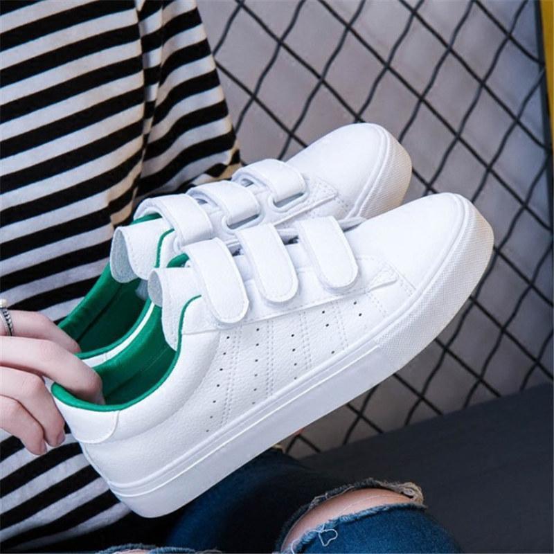 Autumn tenis feminino sapatos de couro mulher de amarrar sapatos de cores sólidas mulheres do sexo feminino sapatilhas ocasionais tn zapatillas mujer