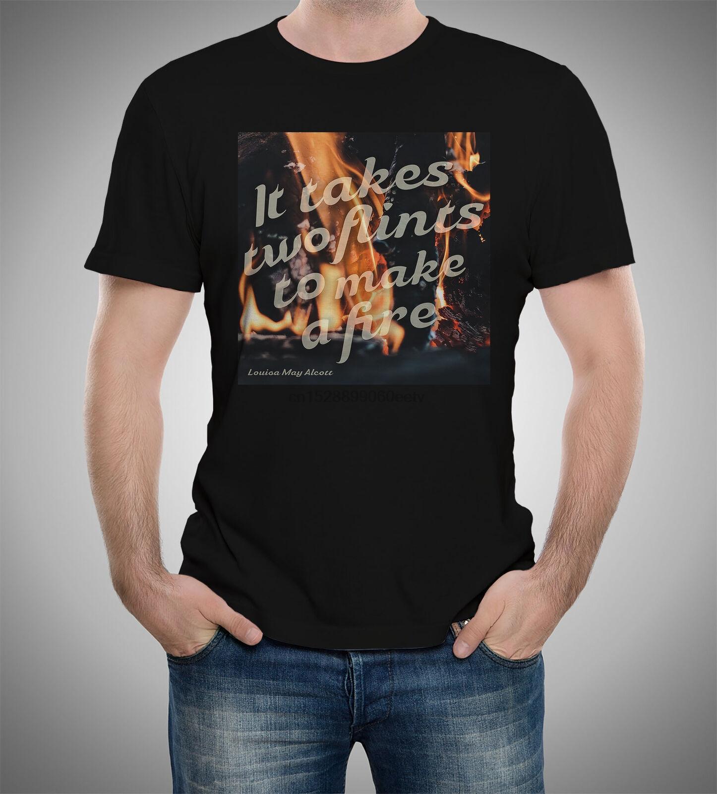 Louisa May Alcott auf Teamwork Teamwork-ZITATE T-Shirt S bis 5XL