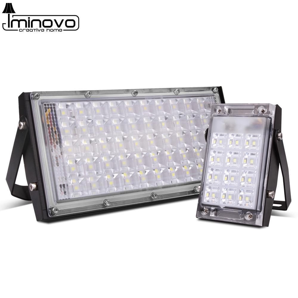 Cgjxs ha condotto la luce di inondazione proiettore esterno Spotlight 10w 20w 30w 50w Wall Washer Lampada Ottica Illuminazione impermeabile IP65 Garden 220v