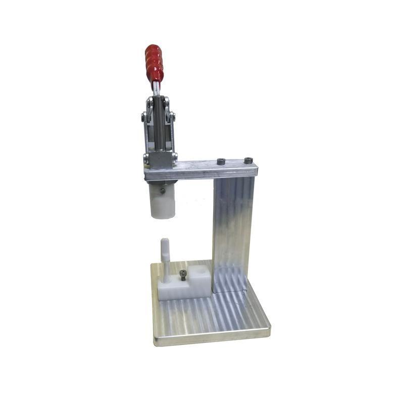 전체 세라믹 Vapes 카트리지에 대한 맨드릴 프레스 머신 휴대용 수동 압축기 수동 압착기에 0.5g 1g (510) 분무기 수동식 보도