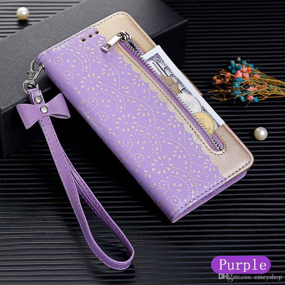Casos aleta Carteira capa para o iPhone 12 XS 11 Pro MAX XR 6 6S 7 8 Plus cartão Slots Pockets Bolsa Elegante Capas Coque Fundas