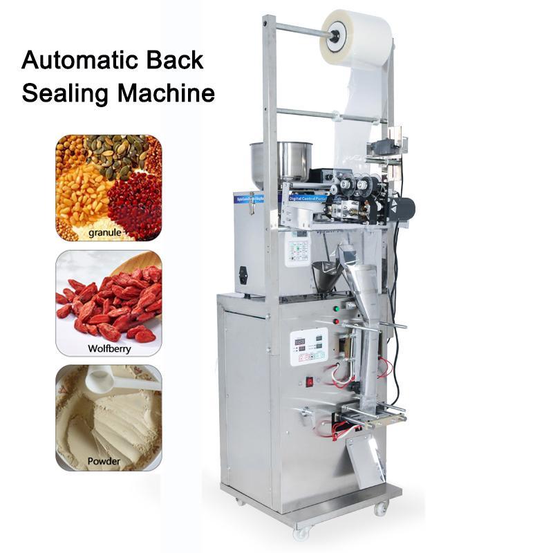 2-50g Food Coffee Bean Grain automática Pesando máquina de empacotamento saco de pó Três Seal Side máquina de vedação enchimento Máquina