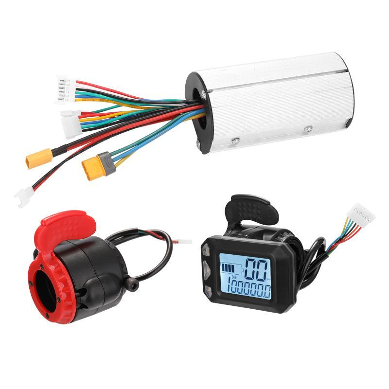 24V Scooter Controller Main Control Panel Display Accelerator Presses And Brake Shifter Electric Scooter Motor Controller