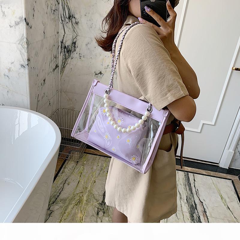 Rosa Sugao sacchetti dell'unità di elaborazione del sacchetto del telefono di lusso della borsa del cuoio borse 2pcs del sacchetto di spalla delle donne borse di lusso progettista tote borsa BHP