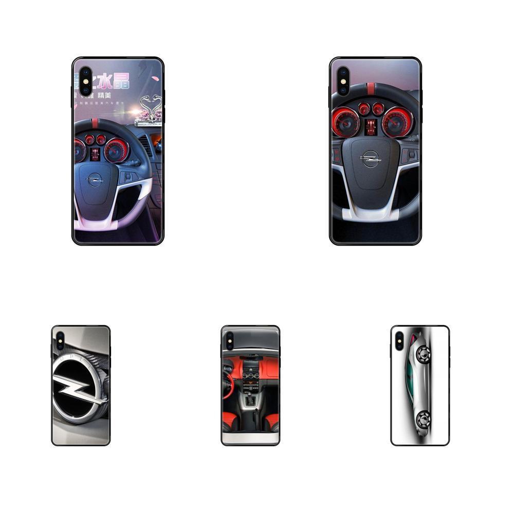 Para Apple iPhone 11 12 Pro 5 5S SE 5C 6 Car Sports 6S 7 8 X XR XS Além disso Max macio TPU Acessórios Caso Opel Astra Gt