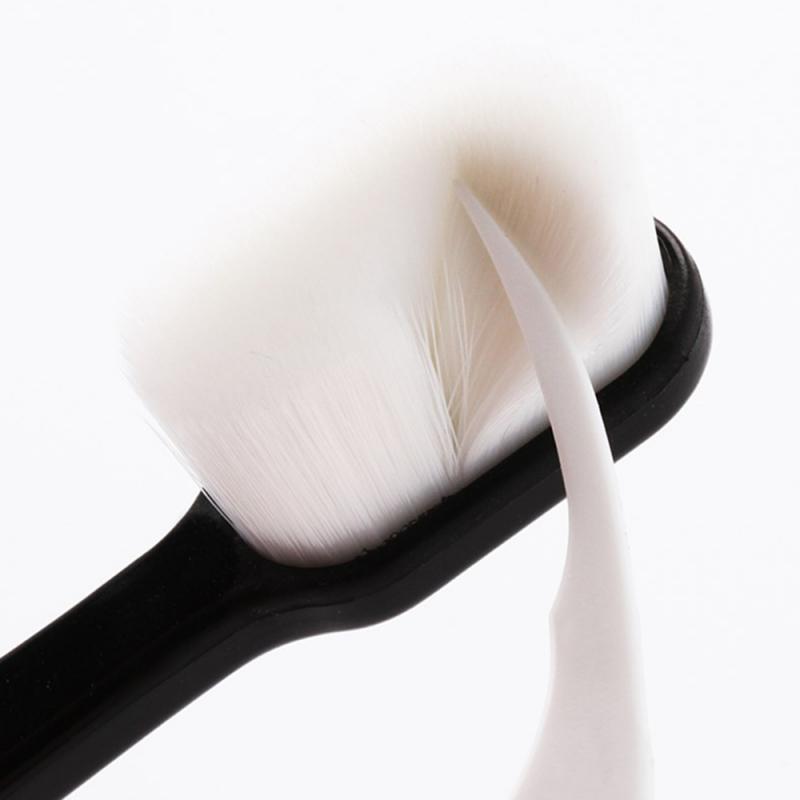 2020 nuove molle eccellente Spazzolino da denti con la scatola Nano spazzolino da denti spazzolino da denti che imbianca adulti Igiene Orale portatile viaggio Spazzolino da denti con la scatola