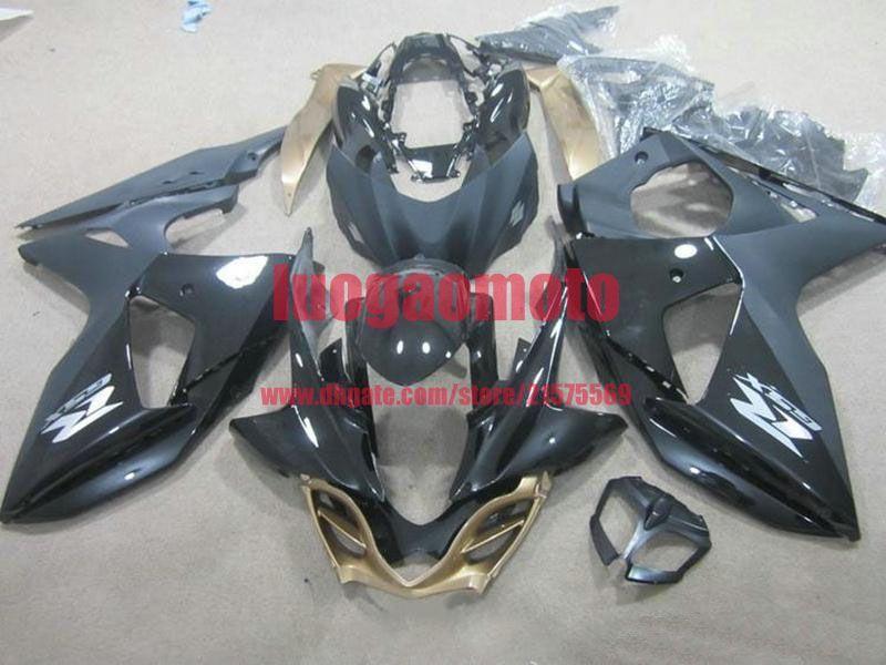 Injection fairings kit + Geschenke für SUZUKI K9 GSXR1000 2009 2010 2011 2012 GSXR 1000 09-12 ABS Motorrad-Karosserie Cowlings #Black # PA71Q