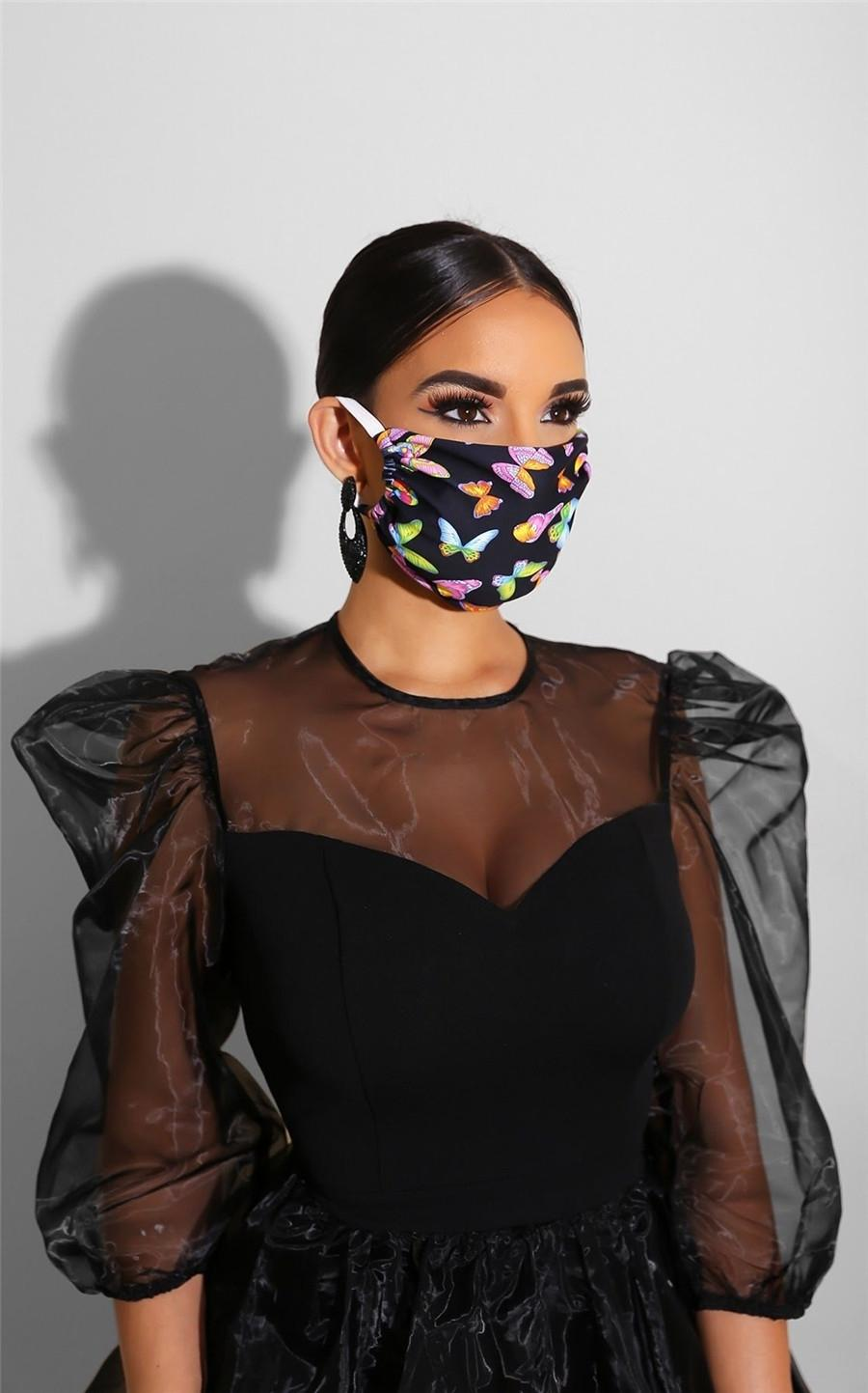 Máscara al aire libre 10pcs máscaras de calavera Deportes de Halloween cosplay cara reutilizable polvo caliente a prueba de viento Parte festiva de algodón Máscaras # 982