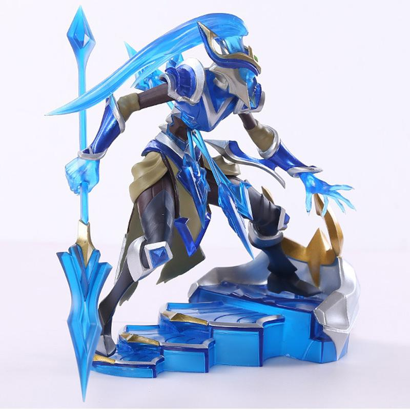 League of Legends figure action game kalista model toy action-figure 3D Game Heros anime party decor cool toy for boy