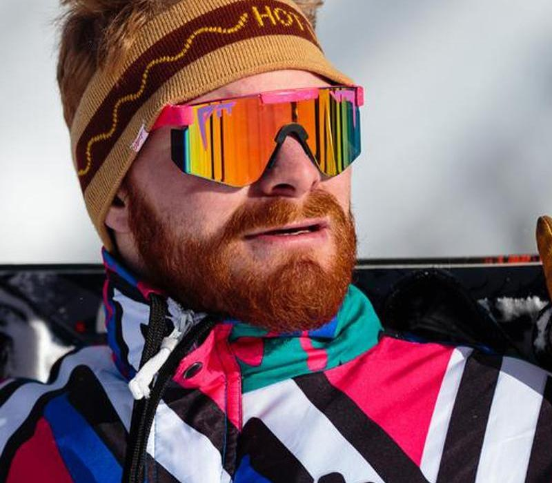 2020 rose nouvelle de haute qualité surdimensionné lunettes de soleil polarisées cadre TR90 lentille rouge miroir protection UV400 hommes Sport pit98