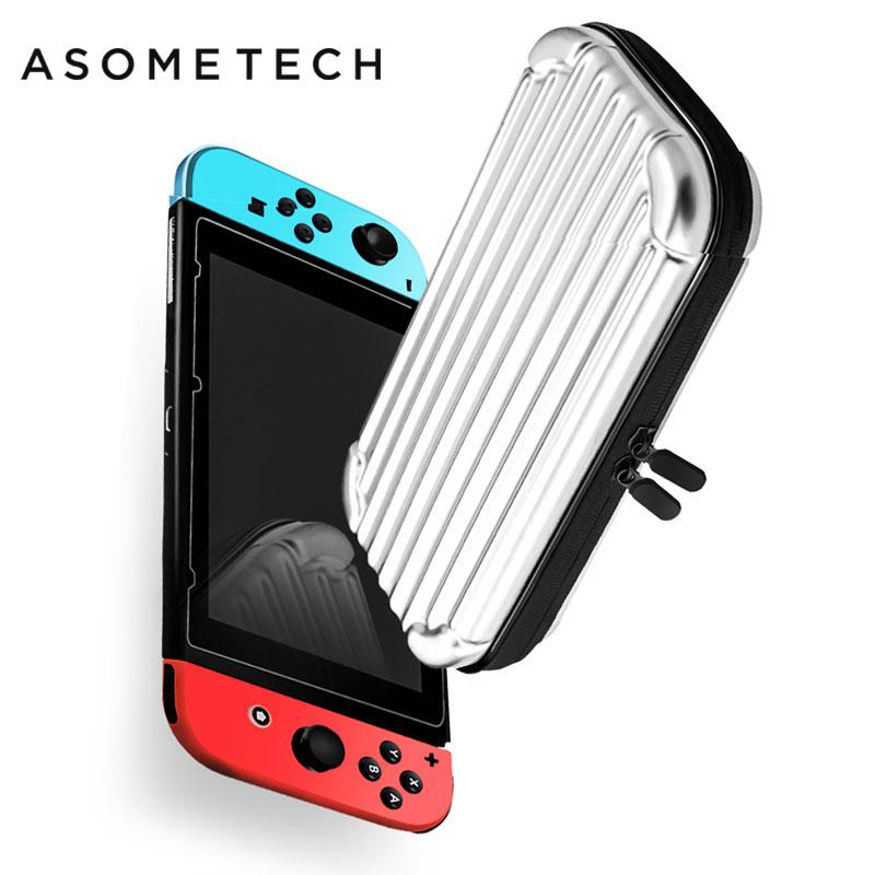 PC Hard Shell Handbag For Switch Storage Case Waterproof Portable Protective Bag Cover For Switch Console NS