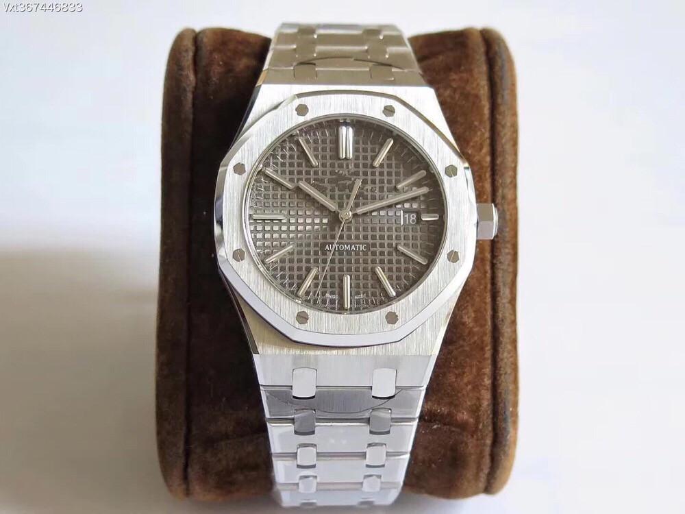 JF produz mens relógios de luxo 15400 movimento Cal.3120 mens automáticos assistir 41 milímetros montre de luxe orologio di lusso Audemars Piguet ap