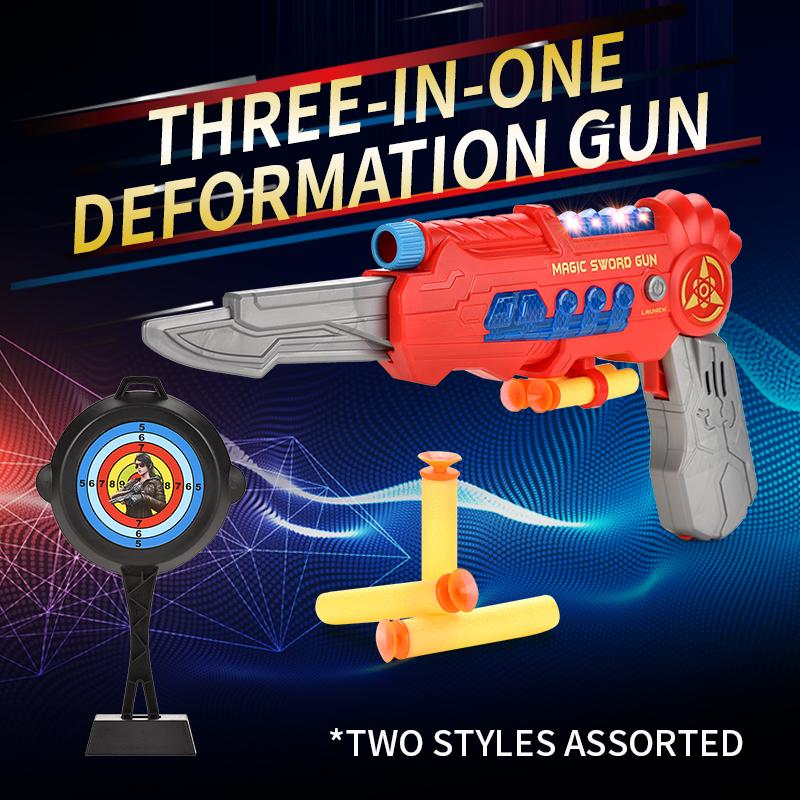 Весело высокий пистолет оба деформации волшебные игрушки одно развлечение детей и качество три мальчика в девушке Gmena
