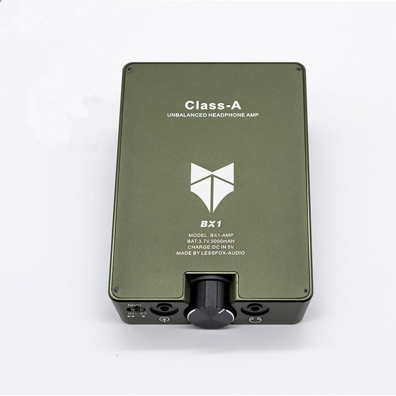 1 PCS المحمولة أقل BX1 كاملة منفصلة نهاية واحدة مكبرات الصوت الناتج مرحبا END سماعة AMP كاملة سماعات DHL شحن سماعة مكبر للصوت