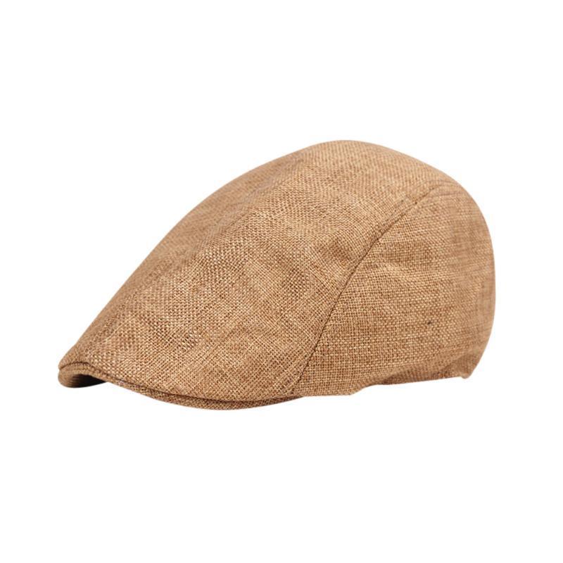 SAGACE Beret Uomo Donna Unisex Vintage cotone casuale cappello di inverno della protezione ladiesVint Età Warmer morbido lino Autunno Cappello Berretti Primavera