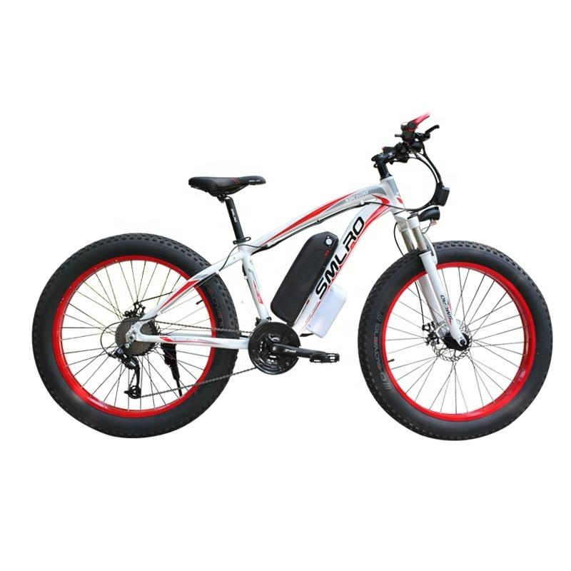XDC600 Neues Modell 26 Zoll Fat Tire elektrisches Fahrrad / 350W / 500W / 800W / 1000W / Elektro-Fahrrad für Erwachsene