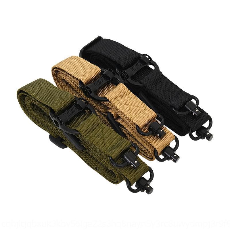 vendita calda MS4 cinghia tattico QDdouble-point multifunzionale nylon tattico cinghia sicurezza sicurezza corda fucile da caccia corda fHoy7