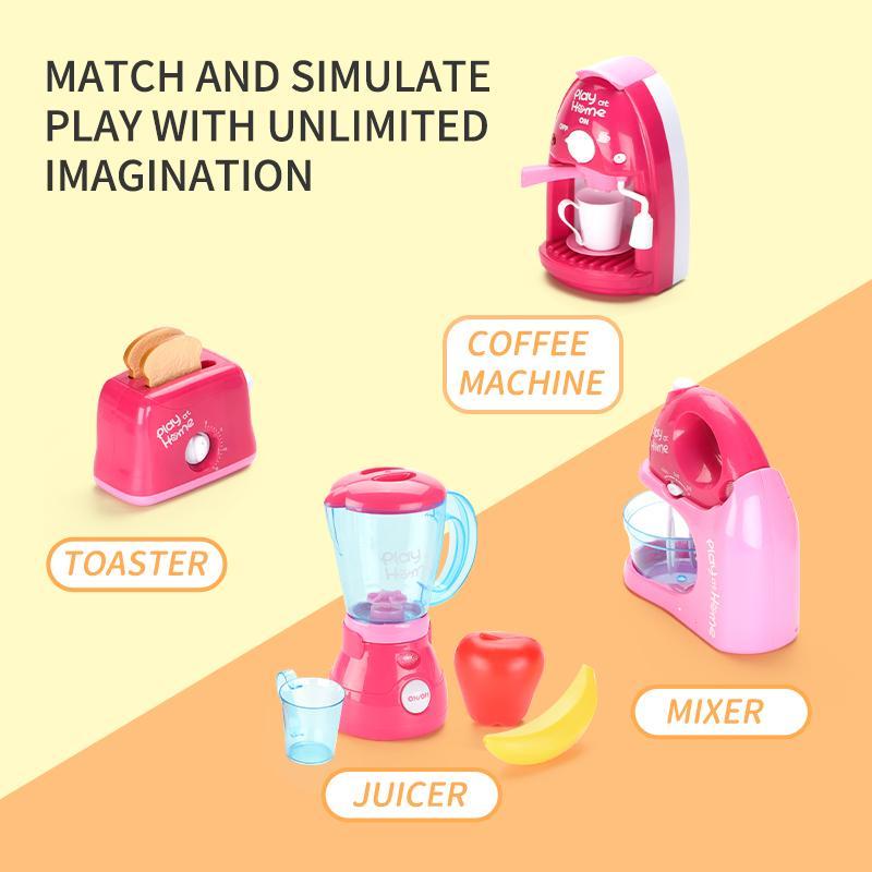 스마트 생활 소형 가전 조합 장난감 높은 감소 강화합니다 생활인지를 시작하는 아기를 위해 집에 장난감 플레이