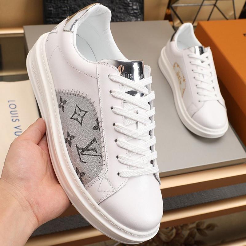 Scarpe di goccia degli uomini della nave Fashion Design Breath Calzature Sport Plus Size Lace Up-Uomo Scarpe Sneakers Chunky De Hombre Kuitixm