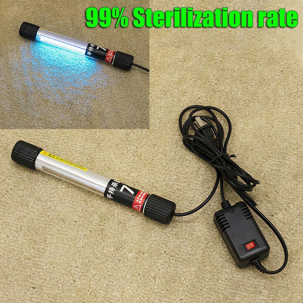 7와트 핸드 헬드 휴대용 UV UVC 살균 등 살균 소독 램프 LightTube