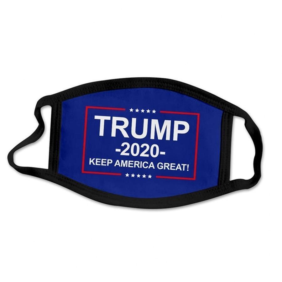 Trump Gesicht Custom-Designer Personalisierte Mund-Maske Black Ice Silk Cotton Breathstaubdichtes wiederverwendbare Masken für Erwachsene Chi # Rcwt #