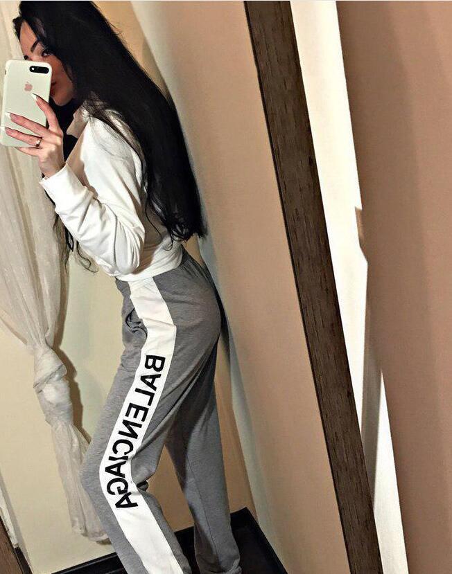 02fashion Kadınlar Eşofman seti, PINK Kadın Eşofman Uzun Kollu Hoodies Sweatshirt Kış Spor Suits 6LVLOUISVUITTON