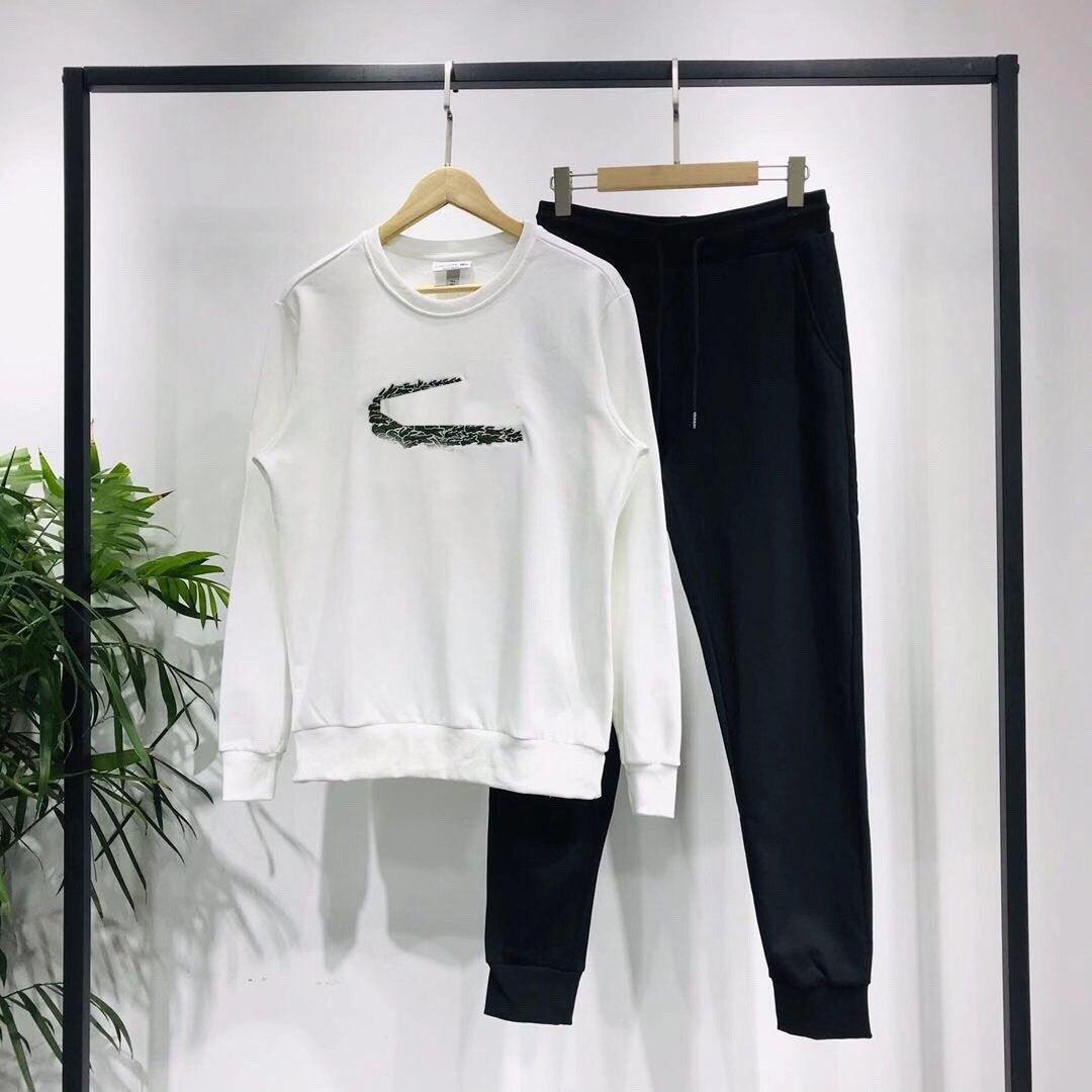 Le donne Tuta Gli uomini con animali Stile Design Autunno Inverno Primavera pullover con cappuccio + pantaloni due pezzi set nero con etichette di formato M-2XL