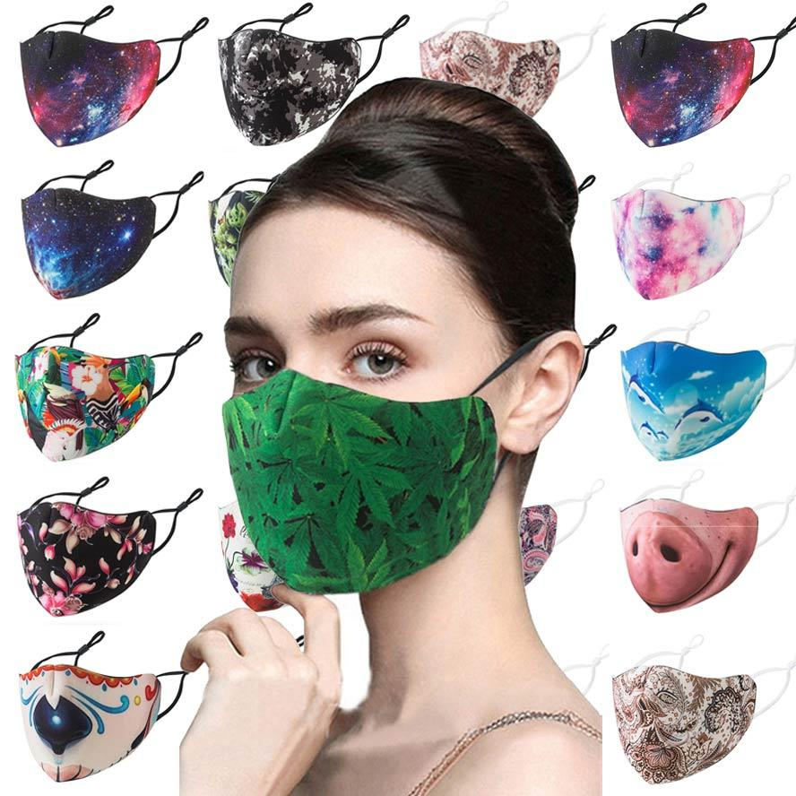 2020 2020 Fashion Trendy Black Disposable Face Mask 3