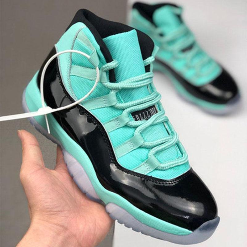 Basketball DARK 11 11s Chaussures Bleu Jumpman fluorescent Xi Hommes d'Or Vert clair Athletic Baskets Baskets 40-47