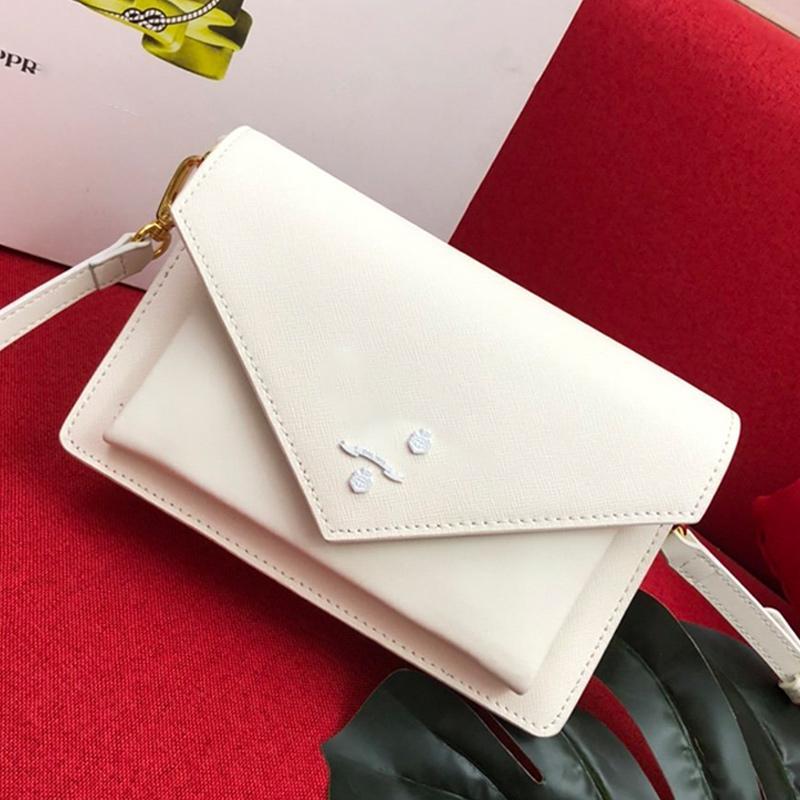 Top Quality Moda Mulheres Bandoleira Sacos Pockets Medium Bag Retro couro Messenger Bags Luz Bolsas estilo clássico de Crossbody Bag Type4