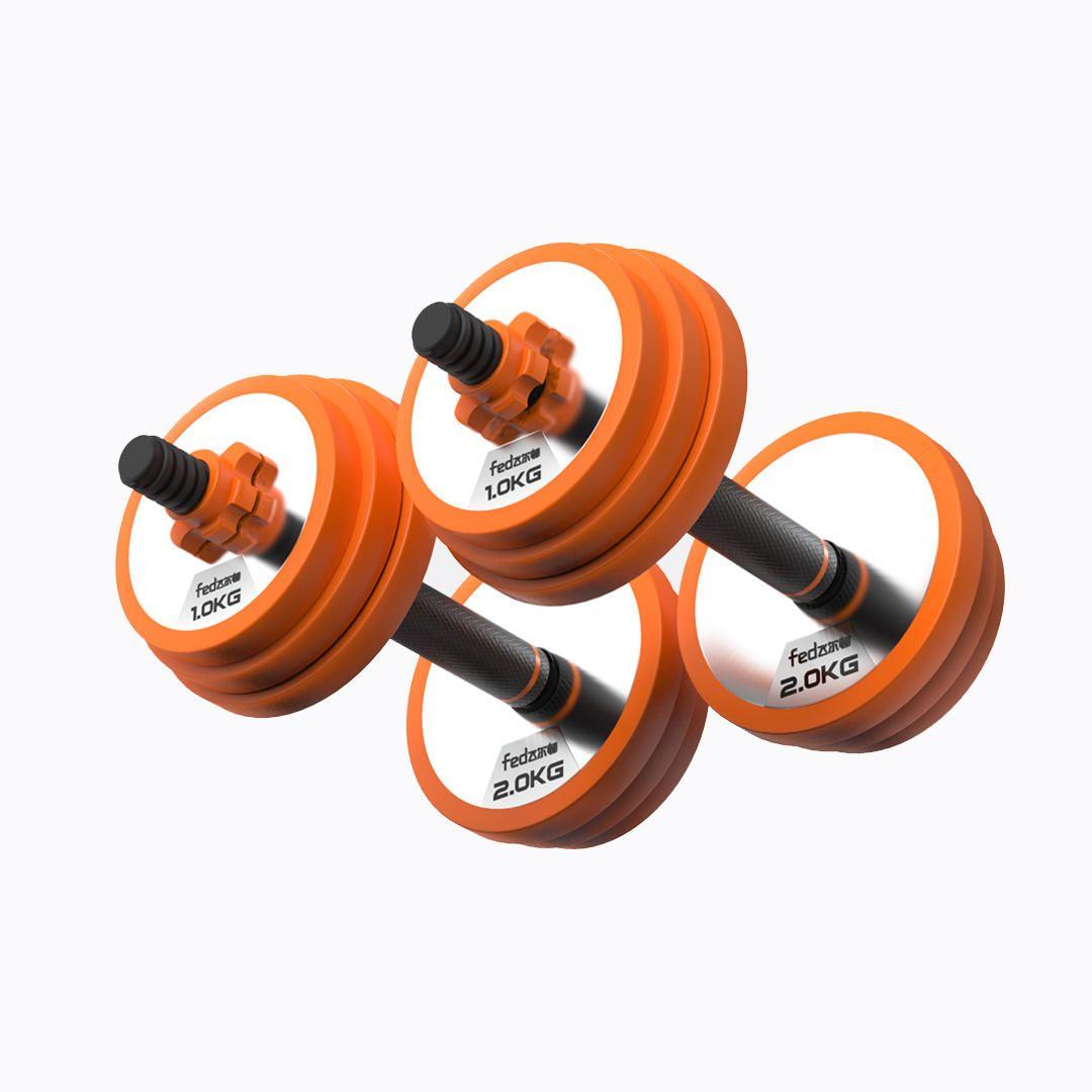 FED الصلب النقي الرئيسية للياقة البدنية الدمبل الحديد متعدد الوظائف الرياضة في الهواء الطلق معدات اللياقة البدنية من mijiaYoupin - KG