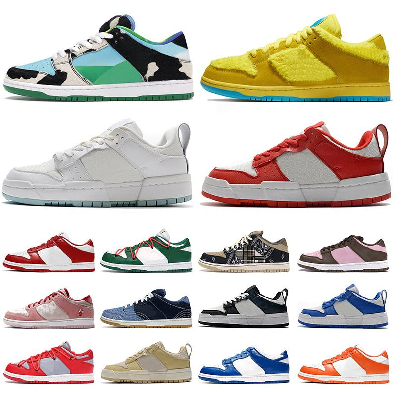 Zapatos Dunk Low Disrupt Grateful Dead x Nike SB Dunk off white Travis Scott Chunky Dunky Dunks Dunked VALENTINE Kentucky Zapatillas Running Hombre Mujer Deportes Outdoor Trainers