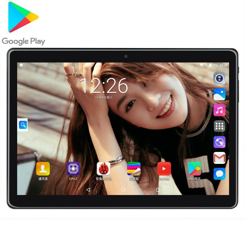 10 Inch Tablet PC Android 7.0 MTK 6580 Quad Core de 1,5 GB RAM 32GB ROM Dual Camera 1280x800 IPS WiFi GPS FM Tablets PC CE