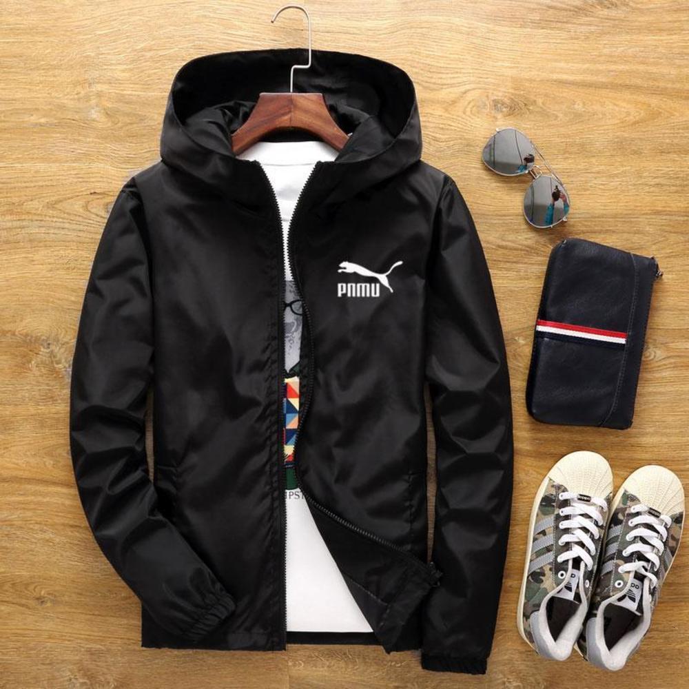 2020 Frühling und Herbst der neue große Art und Weise der Männer Windjacke Reißverschlussjacke Markenkleidung