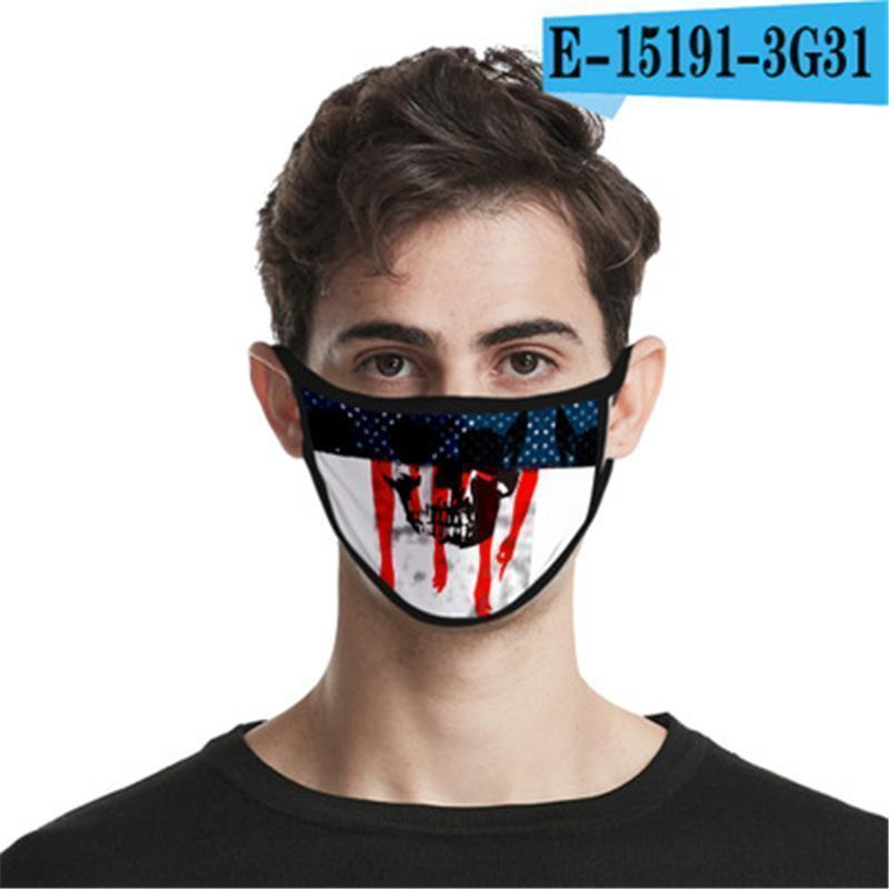 Bocca lavabile Mascherina di spedizione riutilizzabile cotone Design Viso Er progettista della maschera di Lino Maschera # If78