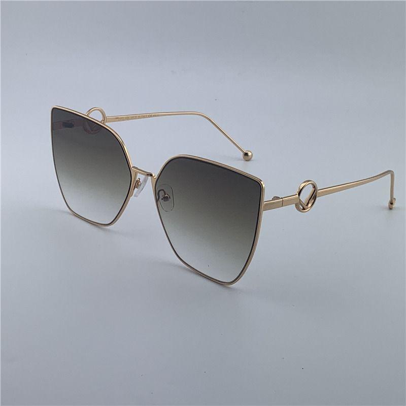 2020 marca de diseño de gran tamaño cuadrados gafas de sol mujeres de los hombres Gafas de sol gafas con el capítulo de la caja de la alta calidad de las señoras de gafas de moda 0323