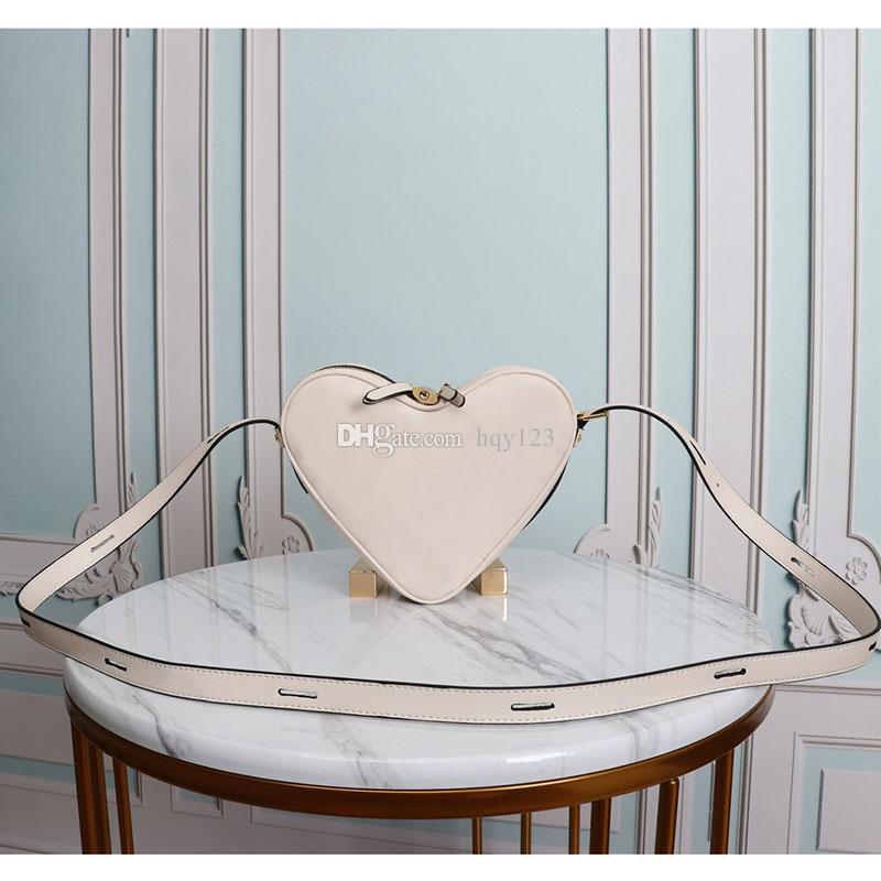 قلب مصمم أزياء حقائب النساء نموذج الفاخرة لطيف حقائب الكتف عالية الجودة اصلية حقائب جلدية حجم حجم 22x20x6cm 45419