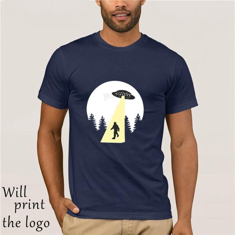 Sasquatch fascio Up T-shirt - Funny T Shirt UFO alieni retrò fresco bigfoot US
