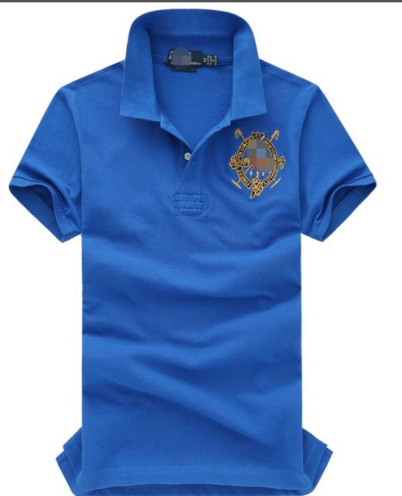 Il Blue Campione Tema Logo commerciale camicia a maniche corte 1441