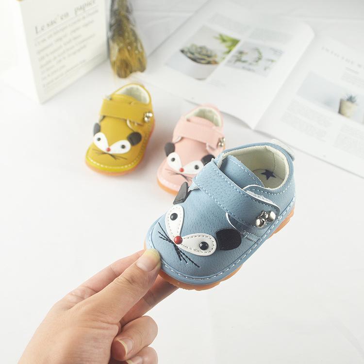 Animación de dibujos animados NIÑOS Zapatos 2020 zapatos de bebé de Cartoon tendón de suela blanda antideslizante niño del bebé Casual