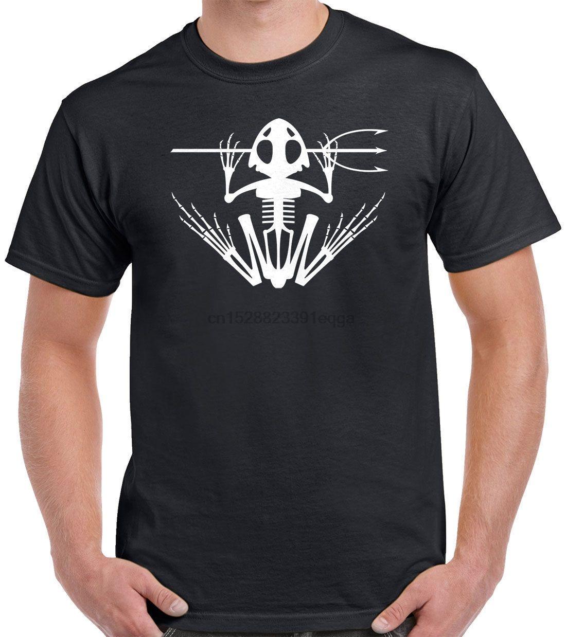 Navy SEAL-Frosch-T-Shirt - Bonefrog Frogman lustige T-mens Hop T Shirts Sommer-Männer Art und Weise T-Geschenk-Druck-T-Shirt