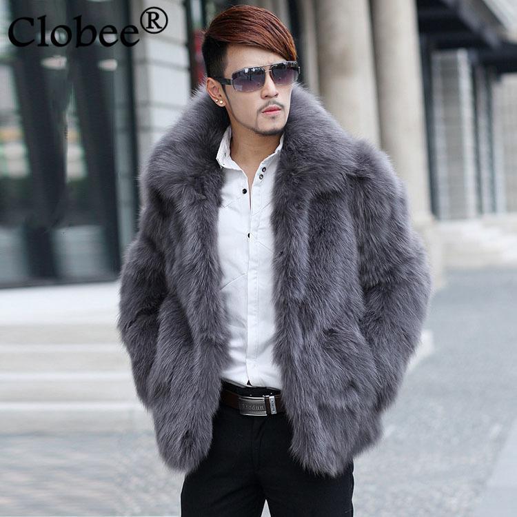 Мужская Поддельный шуба 2020 новая зима теплой искусственную теплой куртки пальто мужского мягкое верхняя одежда куртка пальто плюс размер WR667