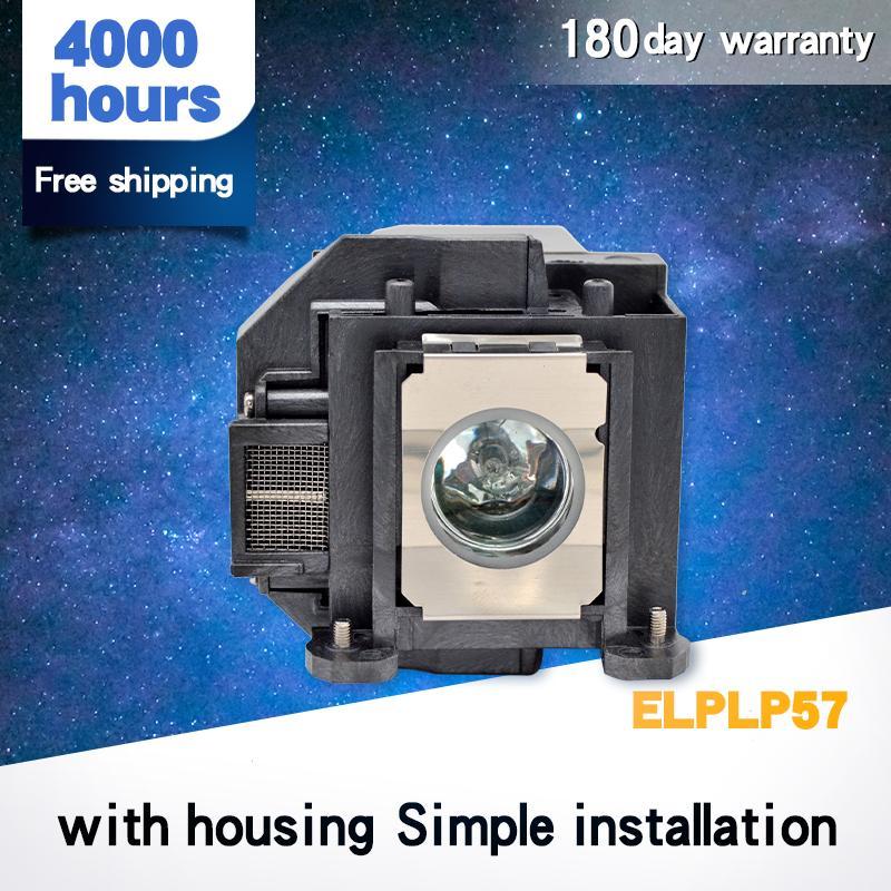 95% Brilho ELPLP57 para EB-440W / EB-450W / EB-450Wi / EB-455Wi / EB-460 / EB-460i / EB-465i / EB-450We / EB-460E / EB-455i / H318A / H343A