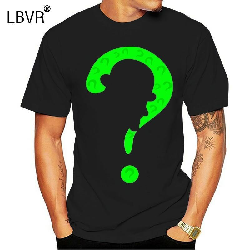 Les hommes T-shirt de coton Riddler conception T-shirt S T-shirt drôle femmes tshirt nouveauté
