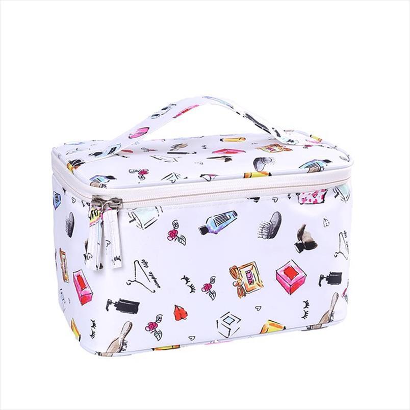 Cosméticos sacos de maquiagem Multifuncional Viagem Cosmetic Bag mulheres sacos Artigos de higiene pessoal Organizador Waterproof Feminino sStorage Make Up Cases
