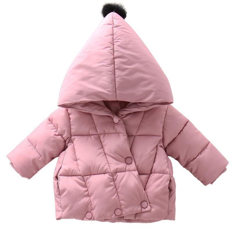 Hiver chaud enfants Vestes pour les filles Manteaux Noël Vestes bébé pour enfants épais manteau à capuchon d'extérieur