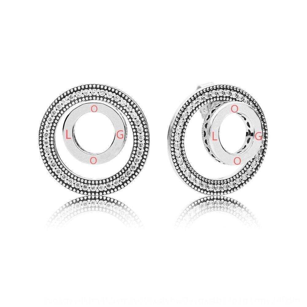 XO6p7 Panjia japonês e coreano personalizado moda hot-venda das mulheres s925 prata esterlina diamante e brincos pingando ea cola de diamante