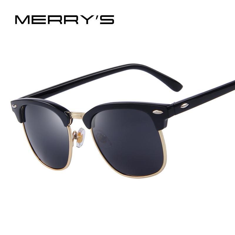 Sono gli uomini Rivet occhiali da sole polarizzati Retro BUON 2020 Classic del progettista di marca unisex occhiali da sole UV400 Moda Maschile Eyewear