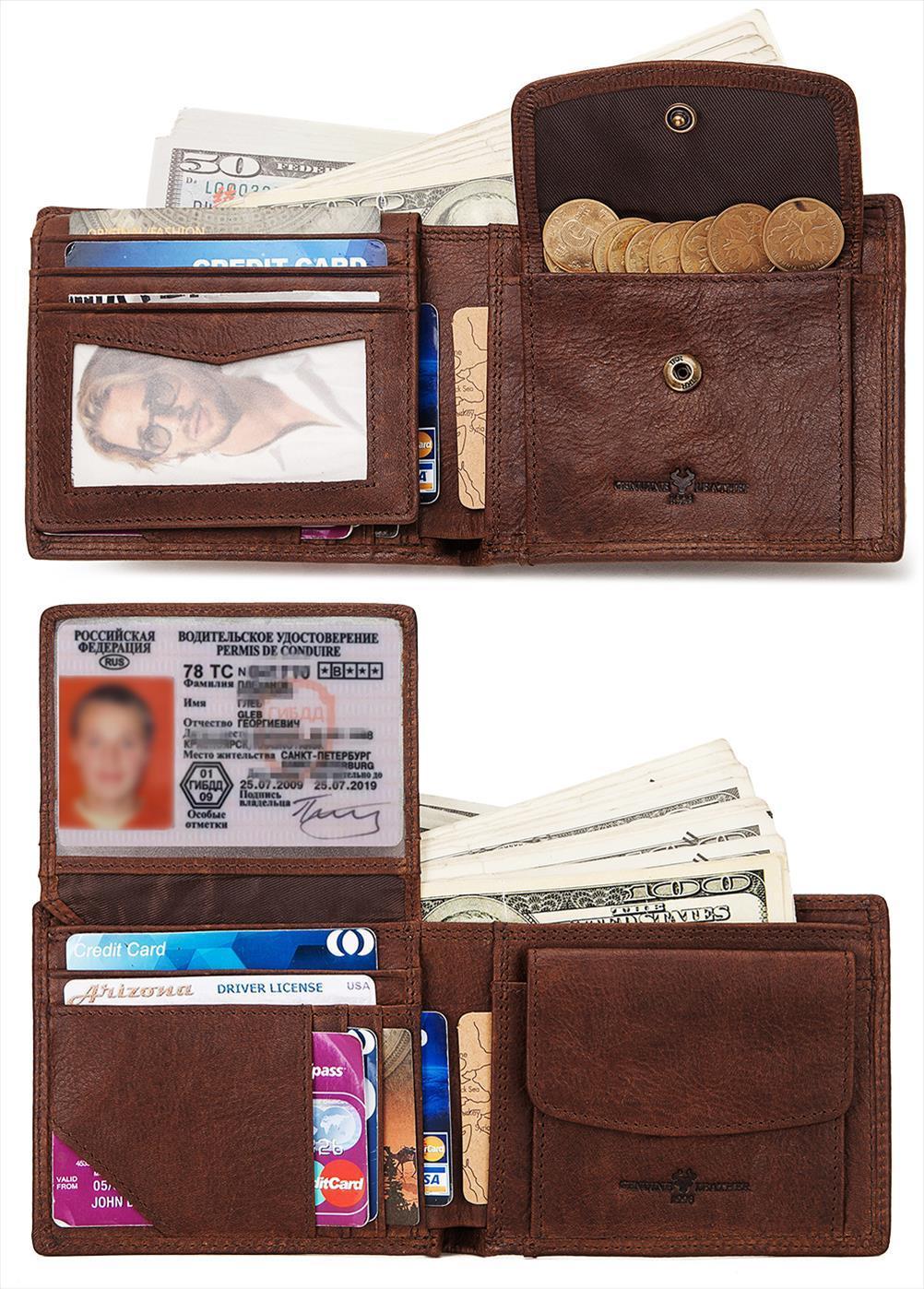 Kavis bolsillo bolso billetera walet hombres cuero pequeño cuzdan 100% monedero monedero moneda masculino hombres genuino y cuero perse Mini cremallera Okpvs