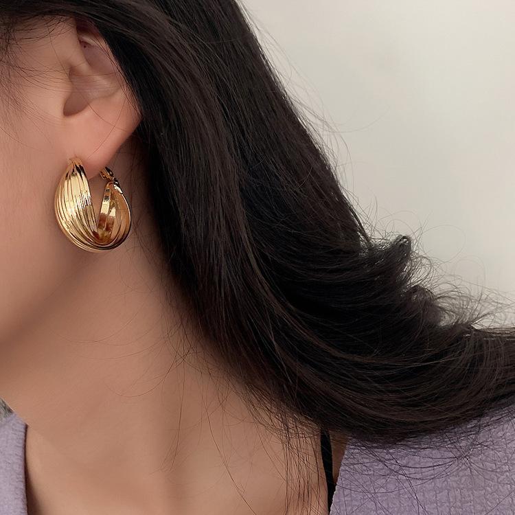 تصميم جديد مجوهرات 925 الإبرة الفضية أقراط السيدات مزاج الأذن خواتم مناسبة للحزب حفل هدايا بالجملة